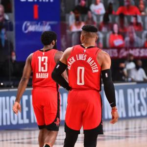 【NBA】全試合結果(2020.8.3) ~ウェストブルックが31P 6R 8Aの活躍でロケッツが首位バックスを撃破!~