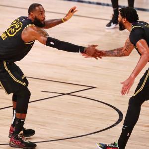 【NBA】セカンドラウンド突破のレイカーズ!プレイオフのスタッツを振り返る!