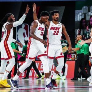 【NBA】全試合結果(2020.9.18)~セルティクスが前半の13点リードを守れず!ヒートが2連勝!!~
