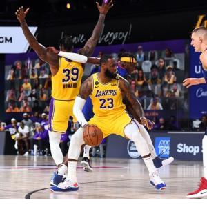 【NBA】WCF GAME1 レイカーズ VS ナゲッツ(2020.9.19) ~ハワードがヨキッチに好ディフェンスを連発!ADが37P 10Rの大活躍でレイカーズが初戦を飾る!~
