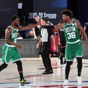 【NBA】全試合結果(2020.9.20)~セルティックスがシリーズを1-2に!テイタムとブラウンが揃って活躍!~