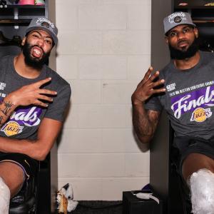 【NBA】WCF GAME5 レイカーズ VS ナゲッツ(2020.9.27) ~キング・レブロンここにあり!レイカーズが西のチャンピオンに!~