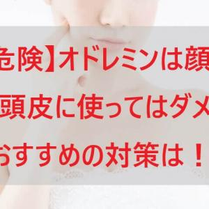 【危険】オドレミンは顔汗や頭皮に使ってはダメ!おすすめの対策は!