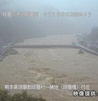 【豪雨】熊本県・球磨村で球磨川が氾濫、1階部分が水没