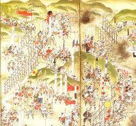 【軽装すぎ】長篠の戦いの屏風絵に描かれた軽装すぎる謎の兵士に「まるで無課金勢」