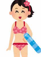 【いた】競泳水着を着たアイドル、いたw