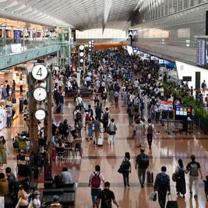 【密です】連休の羽田空港がすごいよ