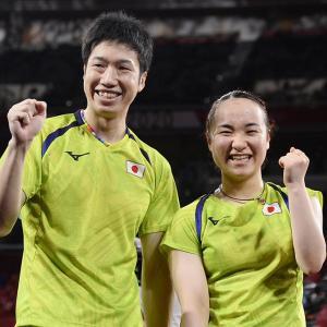 【日本初】水谷・伊藤ペアが金メダル、卓球の金は日本初
