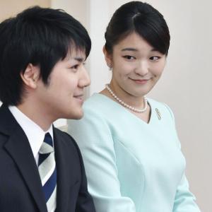 【加速】小室圭さんと眞子さま、結婚を前に10月に記者会見か