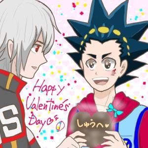 ベイバ シュウバル&フリバルマンガ① Happy Valentine's Day 2021/02/14投稿(P/T)