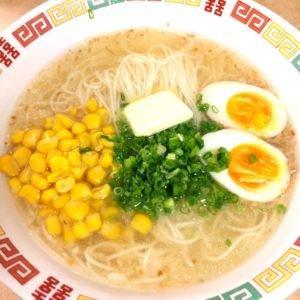 【素麺アレンジレシピ】コーンバター塩ソーメン【塩ラーメン風】