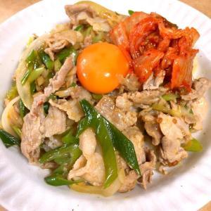 【めんつゆで作る】すた丼【夏飯・ピリ辛】