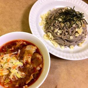 【ピリ辛】肉つけ蕎麦