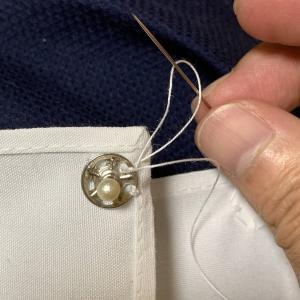 裁縫でスナップボタンを付けるゾ!