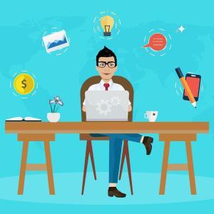 個人事業主とフリーランスの違いは何?開業届を出すタイミングと税金の申告は?