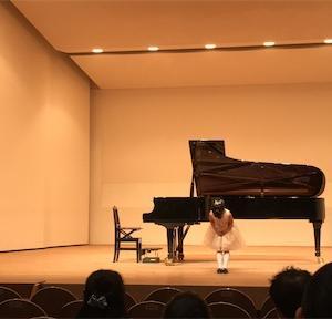 【ピアノの発表会】
