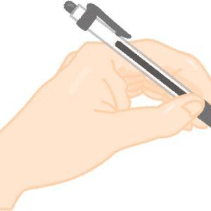 右利きの僕は怪我もしていないのに、左手で箸とペンを使う生活を続けている