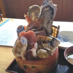 四倉舞子温泉 よこ川荘 へ日帰り入浴 そのあと メガ海鮮丼を食す!