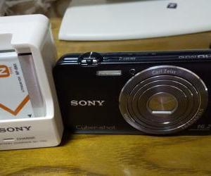 SONYの中古のデジカメ購入したら動画をPCに取り込めなかったケーブル大事です!セットのものがおすすめかな
