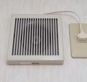 トイレの爆音換気扇交換して無音になってとてもうれしいです。