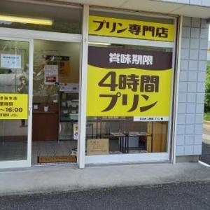 賞味期限4時間プリンのお店に行ってみました