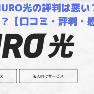 【8月】NURO光の評判は悪い?本当に悪いの?【口コミ・評判・感想】