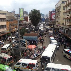 ナイロビ【国際空港から市内・ローカルバス情報】
