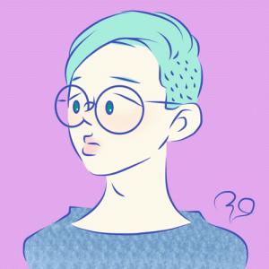 【イラスト】メガネ男子まだいます。服屋さんに行くとそわそわしちゃう。