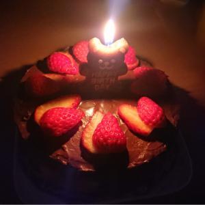 Happy birthday の舞台裏 ケーキ編 とお礼とセブンイレブン