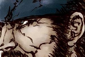 【イラスト】2008年に描いたあれこれ③スネーク~小島監督の番組で紹介されたお話~