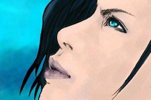 【イラスト】2011年④依頼絵と「歌ってみた」動画用GACKTさん似顔絵