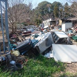 【流山・富士川】仲田橋周辺…スクラップ置き場と川沿いスラム風景…