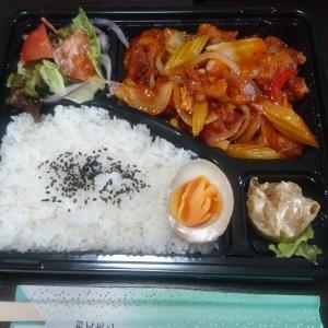 彦根の台湾料理レストラン、銭記(チェンキー)さんで若鶏唐揚げトマトソースのお弁当をテイクアウト!店内も台湾の雰囲気を楽しめます
