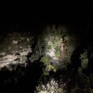 Katoomba Falls Night-lit Walkに行ってきた