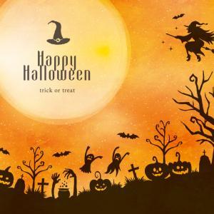 【ハロウィン】今宵は四六年ぶりの満ち足りた蒼き月と共に魔物たちが躍りはじめる祝祭の時。。