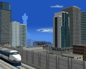 A列車で行こう3Dだらだら開発 新幹線停車!大都会門前町