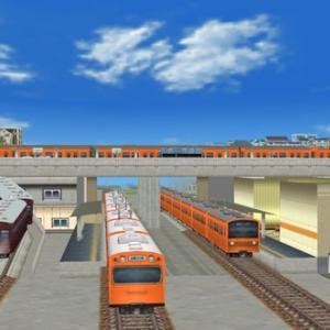 A列車で行こう3D/PCのバグ技で西国分寺駅をもう一度それっぽく再現してみる