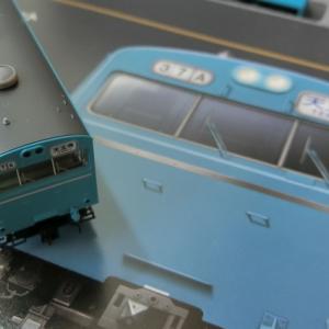 トミックスの103系高運転台非ATC車(スカイブルー)を導入