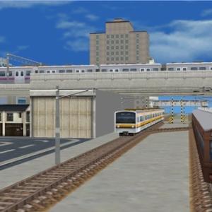 A列車で行こう3D/PCだらだら開発 東急・南武線再現(?)マップの進捗