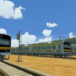 はじまるA列車でも中原電車区っぽい風景を作ってみた