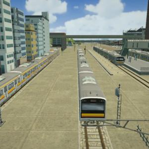 はじまるA列車での鉄道用車庫の位置を考える