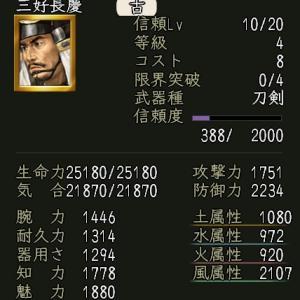 【英傑】三好長慶の実装