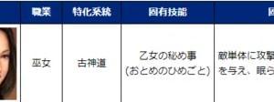 7/15メンテで生き返ったまりちゃんと黒百合(*'ω'*)