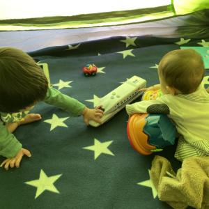 【2歳半長男、7ヶ月長女】外出自粛中の子どもたちの遊び