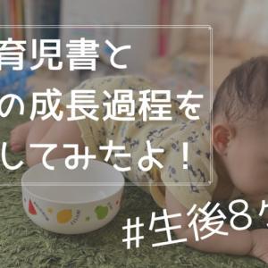 8ヶ月の赤ちゃんができることって?平均的目安と娘の成長発達を比べてみる