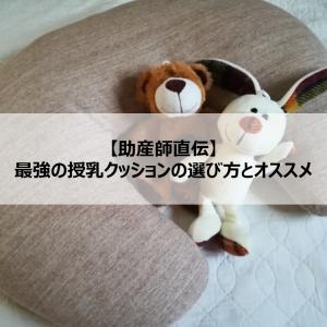 【助産師直伝】最強の授乳クッションの選び方とオススメ
