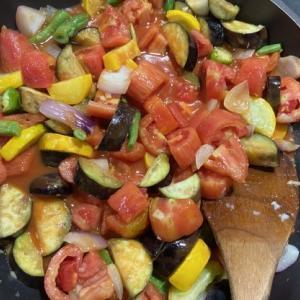 夏野菜の瓶詰め