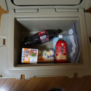 【冷蔵庫なし生活】夏もクーラーボックスでサバイブします