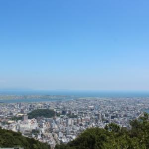 徳島に来て天気が良ければ行ってみよう!眉山公園(山頂展望台)に行くルート