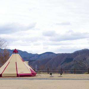 2020年最初のキャンプ@西山高原キャンプ場 – DAY1-
